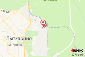 Адрес Водоканал Очистные сооружения г. Лыткарино на карте
