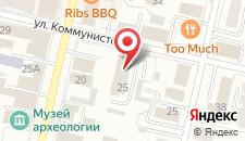 Отель Милютинский на карте