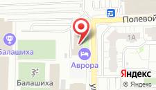 Отель Спорт на карте