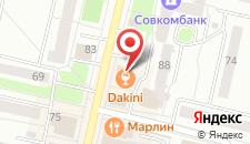 Гостиница Воскресенская на карте