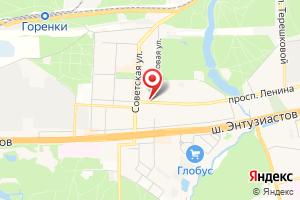 Адрес МегаРесурс на карте