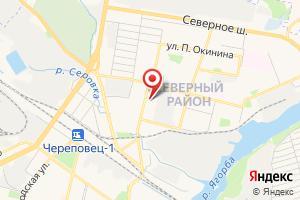Адрес Насосная станция № 14 на карте