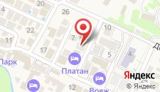Гостевой дом Ахиллес-Палас на карте