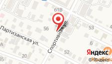 Гостевой дом Афина на карте