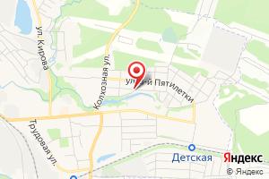 Адрес КТП № 1174 на карте