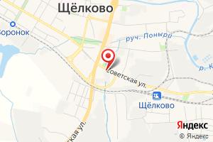 Адрес Щёлковские электрические сети, филиал Мособлэнерго на карте