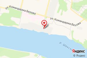 Адрес Череповецкая водозаборная станция на карте