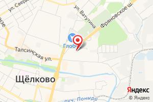 Адрес ТП № 334 на карте