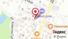 Гостевой дом Виола на карте
