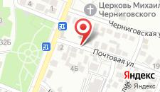 Гостевой дом Ласточка на карте