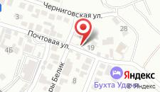 Гостиница Aleksandros на карте
