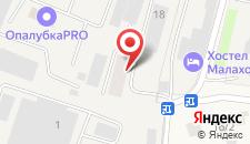 Хостел Малаховка на карте