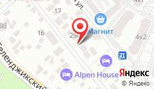 Гостевой дом Георгий на карте