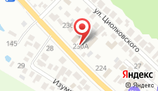 Гостиница Kozmoc на карте