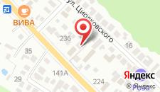Гостиница Casa Blanca на карте