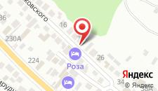 Гостевой дом Мохито на карте