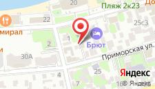 Отель Магнолия на карте