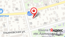 Гостиница Глобус на карте