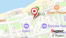 Отель Компасс на карте