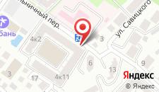 Пансионат Кубань на карте