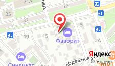 Отель Фаворит на карте