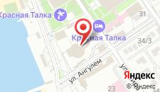 Санаторий Красная Талка на Мира на карте