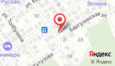 Гостиница Лавровая на карте