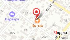 Гостевой дом Иртыш на карте