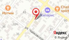 Гостевой дом Николина Фазенда на карте