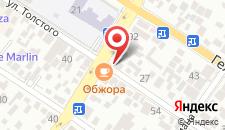 Мини-отель На Толстого 23 на карте