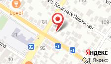 Гостевой дом Ghouse на карте