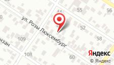 Гостевой дом Надежда на карте