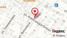 Гостевой дом Эврика на карте