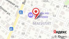 Гостевой дом На Рублёва на карте