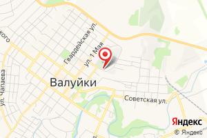 Адрес Белгородоблгаз на карте