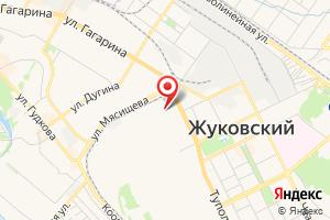 Адрес Прочистка труб канализации и устранение засоров в Жуковском на карте