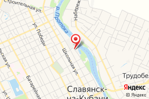 Адрес Кубаньводоканал, городские очистные сооружения на карте
