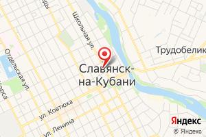 Адрес Кубаньводоканал на карте