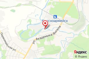 Адрес МУП Системы Коммунальной Инфраструктуры участок Водоканал г. Красноармейск на карте