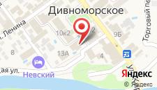 Гостевой дом Ива на карте