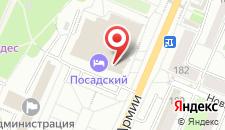 Гостиница Посадский на карте