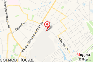 Адрес Муниципальное унитарное предприятие Водоканал г. Сергиев Посад на карте