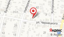Апартаменты На Чернецкого на карте