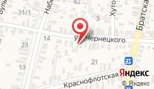 Гостевой дом На Чернецком 24 на карте