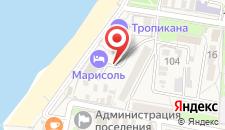 Отель Марисоль на карте