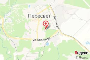 Адрес МУП Коммунальные сети Муниципального образования город Пересвет на карте