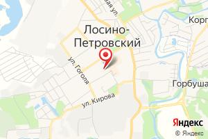 Адрес Управление капитального строительства городского округа Лосино-Петровский на карте