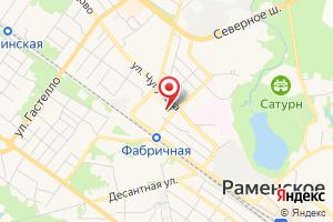 Адрес Раменский водоканал Водонасосная станция 3-го порядка на карте