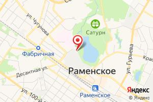 Адрес Мособлэнерго, ЦОК Раменское на карте