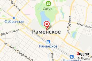 Адрес Раменские электрические сети на карте